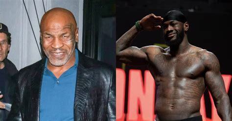 """Mike Tyson tells Deontay Wilder to """"grow up"""" if he wants ..."""
