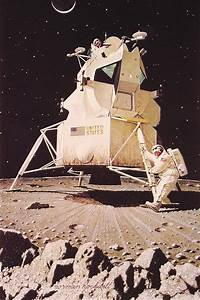 Man on the Moon, 1967 - Norman Rockwell - WikiArt.org