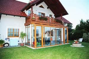 Wintergarten Mit Balkon : wintergarten mit balkon dar ber fenster schmidinger ~ Orissabook.com Haus und Dekorationen