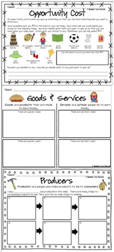 1000+ Images About Goods And Services On Pinterest  Community Helpers, Economics Lessons And