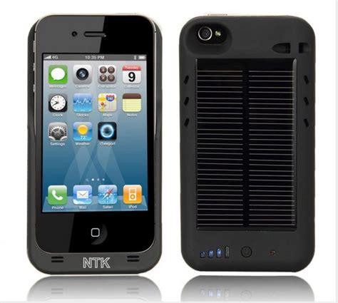 iphone solar charger iphone 4 4g external solar powered battery charger