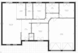 besoin d39avis sur un plain pied 120m2 garage double 60 With plan de maison plain pied 4 chambres avec garage double