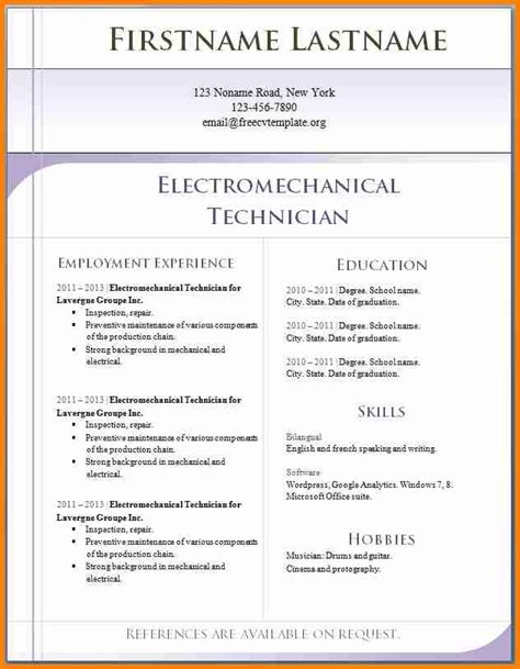 Sle Cv Template by 11 Cv Exle Penn Working Papers