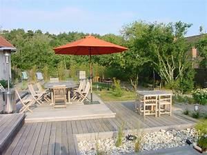plan terrasse bois et gravierjpg 1280x960 terrasse With plan pour terrasse exterieur