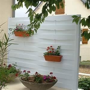 Brise Vue Pvc Blanc : terrasse brise vue terrasse exemple accueil design et ~ Dailycaller-alerts.com Idées de Décoration