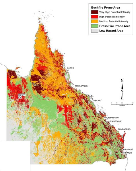 mapping fire prone areas   fires csiro