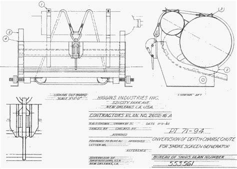 Higgins Pt Boat Blueprints by Pt Boat Plans Roters