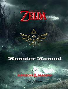 The Homebrewery Zelda Monster Manual 5th Edition