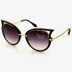 cat eye sunglasses buy edgy cat eye sunglasses just pretty things