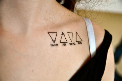 Quelle Est La Signification Du Tatouage Double Triangle