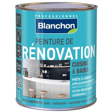 peinture cuisine et salle de bain peinture rénovation cuisine salle de bain 1l blanc cassé