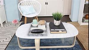 How to keep clutter off your coffee table and other for Homesense coffee table