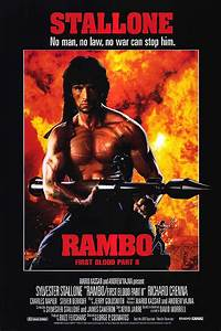 Rambo: First Blood Part II movie posters at movie poster ...