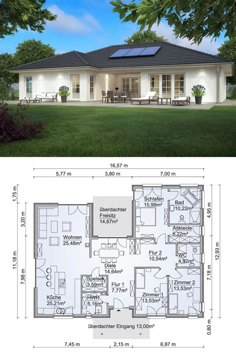 Haus In U Form by Bungalow Haus U Form Wohn Design