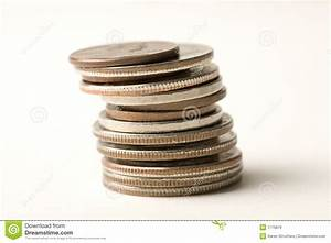 Stack Of Coins Royalty Free Stock Image - Image: 1776876