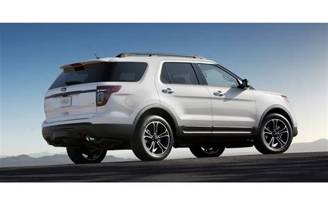 Fuel Efficient V6 Cars by New Ford Explorer Sport Fuel Efficient High Performance