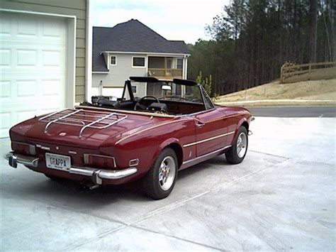1974 Fiat Spider by Grappa 1974 Fiat Spider Specs Photos Modification Info