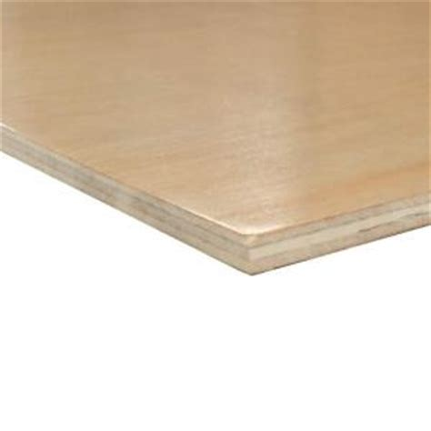 Birch Cabinet Grade Plywood by Prefinished 1 Side Birch Plywood Common 1 4 In X 4 Ft