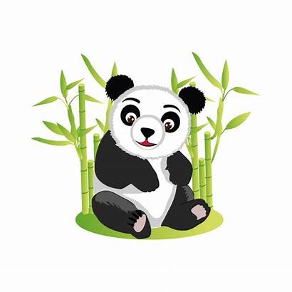 Panda Giant Bambou Clip Discord Emoji Stickers