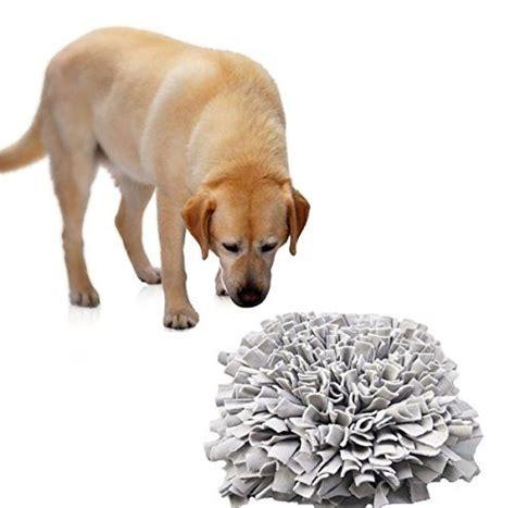 comfysail waschbar hunde geruch snuffle mat