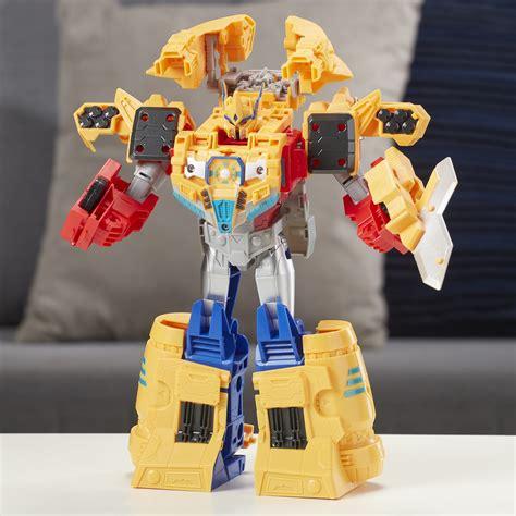 transformers cyberverse ark power optimus prime big