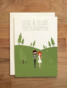 best 25 illustrated wedding invitations ideas on With how much are custom wedding invitations