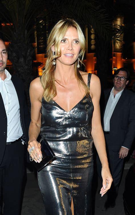 Heidi Klum Harmonist Party Cannes Film Festival