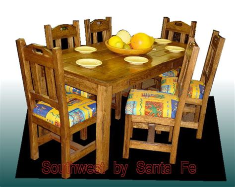 west southwestern style dining tables