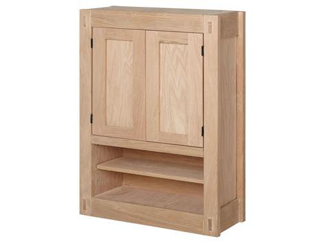 Unfinished Storage Cabinets, Unfinished Mission Hardwood