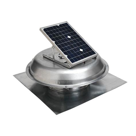solar powered home fans master flow 500 cfm solar powered roof mount exhaust fan