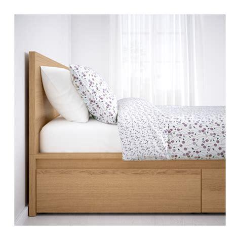 ikea chambre malm malm bettgestell hoch mit 4 schubladen 160x200 cm ikea
