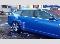 Liquid Car Wraps vs Dreaded Car Wash Test Jet Wash