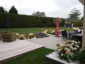 Salon De Jardin Terrasse : terrasses paysagiste angers ~ Teatrodelosmanantiales.com Idées de Décoration
