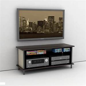 Wall mount tv stand never die midcityeast for Wall mount tv stand never die