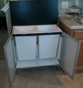ikea kitchen garbage cabinet bathroom sink base to trash recycling center ikea 4533