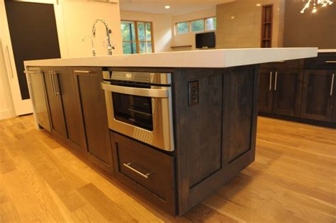 microwave in kitchen island 9 places in kitchen to shelf your microwave bonito designs