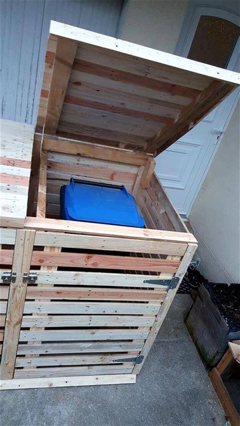 pallet trash  cabinet pallets pro