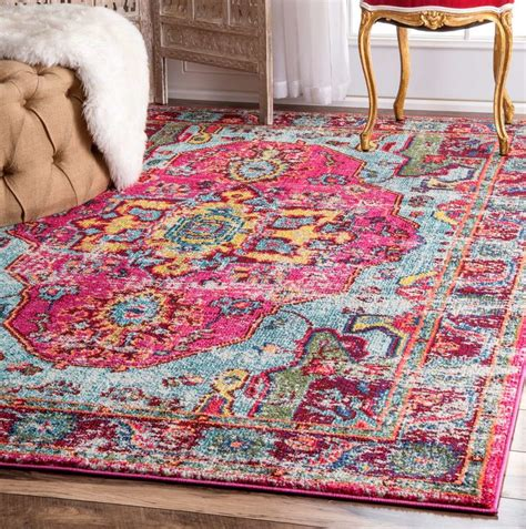 bathroom stylish pink and blue area rug roselawnlutheran ideas rugs remodel mistana