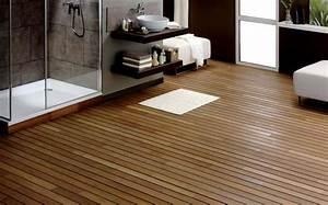 parquet de salle de bain choisir un parquet pour piece d39eau With parquet pour salle d eau