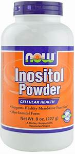 Now Foods Inositol Powder 8 Oz