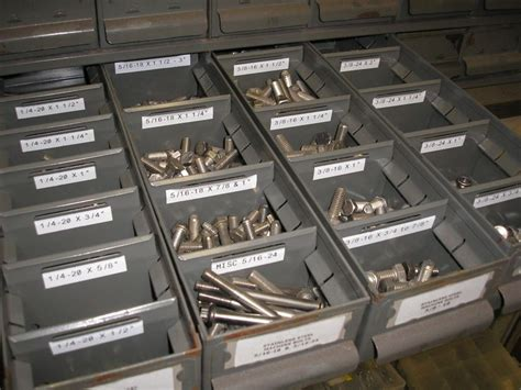 How Do You Organize Small Hardware (nuts & Bolts Etc