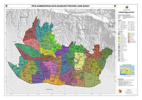 administrasi kota bandung peta tematik indonesia