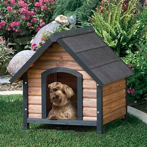 Precision extreme outback log cabin dog house walmartcom for Zero dog house