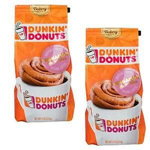 Raise your cup and salute the greatness of coffee! 2 Dunkin' Donuts®Bakery Series®Cinnamon Coffee Roll Ground ...