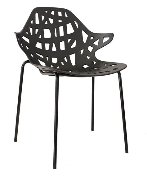 chaise metal pas cher chaise noir pas cher