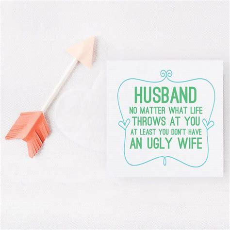 funny husband cardhusband  dont
