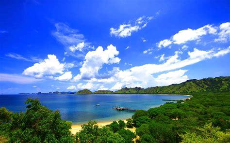 Landscape, Nature, Pier, Forest, Island, Coast, Indonesia