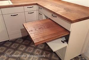 Arbeitsplatte Küche 4m : landhausk che mit vollholz arbeitsplatte tischlermeister ~ Michelbontemps.com Haus und Dekorationen