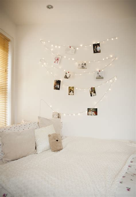 wall fairy lights bedroom amazing ways to brighten up your home with lights on 17742
