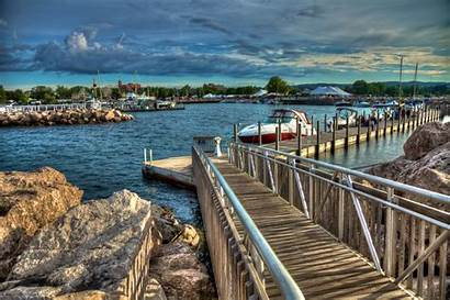 Traverse Marina Michigan Clinch Downtown Duncan Cherry